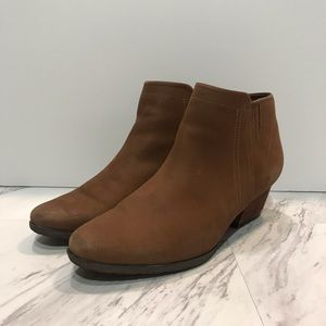Blondo Brown Waterproof Booties